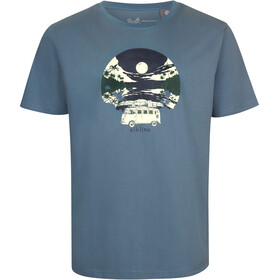 Elkline Einsteigen T-shirt Herrer, ocean/vw